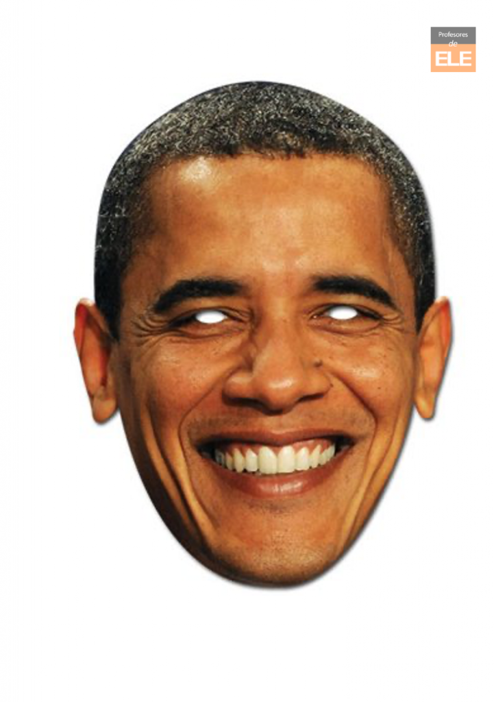 Barack Obama Mask - Celebrity Face Masks front